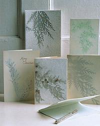 Manualidades: postales de Navidad 3