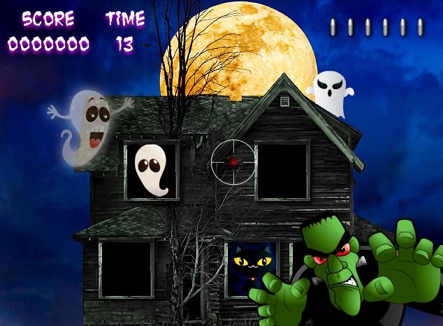 casa encantada vampiros mounstruos halloween