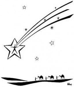 historia de la navidad, reyes y estrella