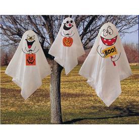 tres fantasmas para halloween