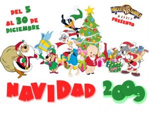 navidad 2009 en Parque Warner