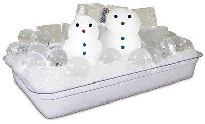 set muñecos de nieve