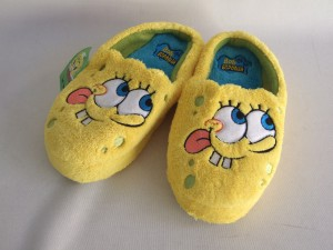 zapatillas de bob esponja