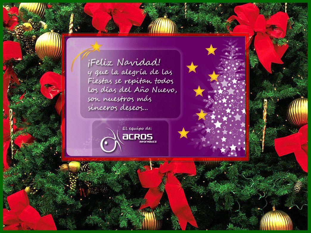 Acros desea feliz navidad navidad - Mensajes navidenos para empresas ...