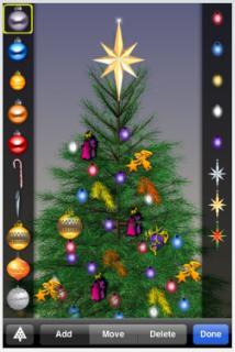 arbol de navidad para iphone
