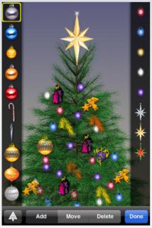 decorar arbol de navidad en movil