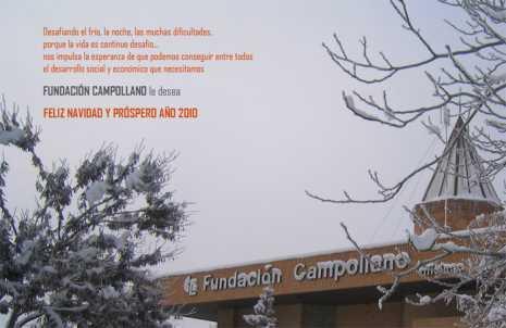 felicitacion fundacion campollano