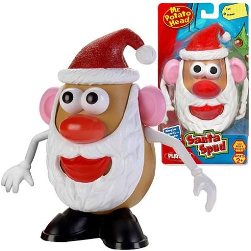 mister potato santa claus