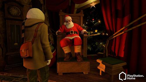 Navidad 2009 Play Station 3 Home