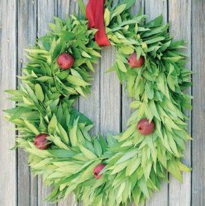 Decorando con fruta la Navidad 9