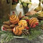 Decorando con fruta la Navidad 8