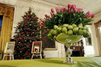Decorando con fruta la Navidad 1