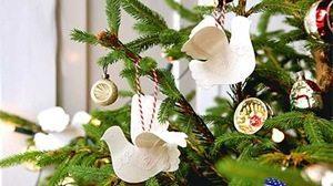 palomas para el árbol