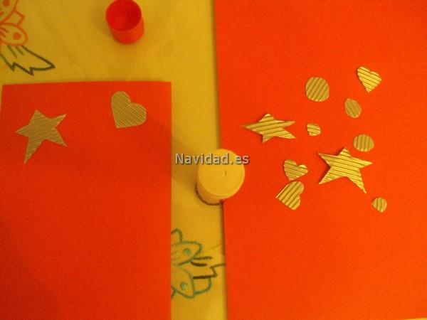 Y os voy a explicar c mo las he elaborado y los materiales - Tarjeta navidad original ...