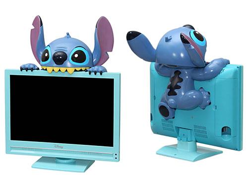 televisión de stitch