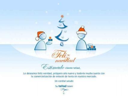 Teliad feliz navidad