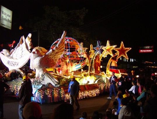 Carrozas de Navidad Costa Rica