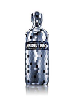 botella absolute glimmer