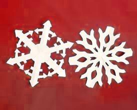 Copos de nieve decorativos 3