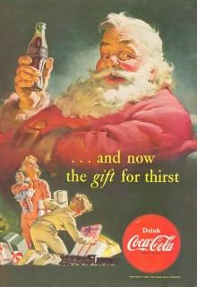 ¿Es cierto que Papá Noel viste los colores de Coca-Cola? 5