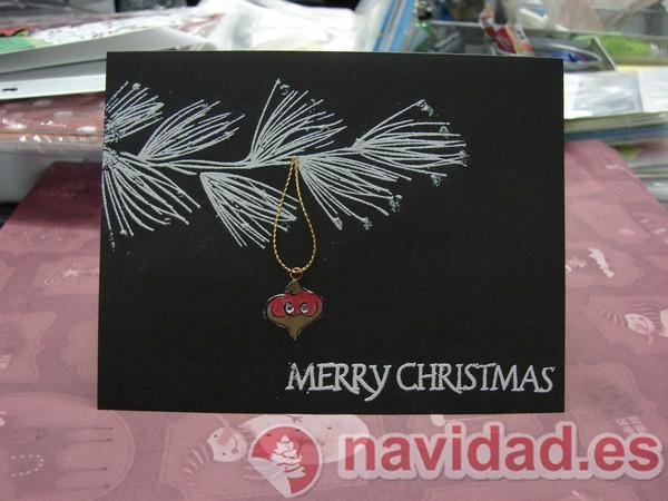 Postales De Navidad Hechas A Mano Originales. Tarjetas De Navidad ...