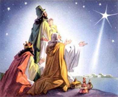 la vision de los Reyes Magos
