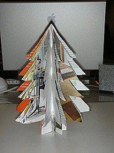 revista árbol navidad