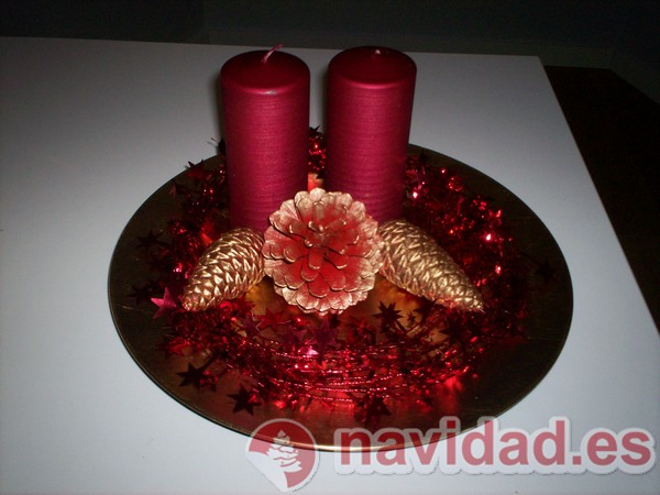 C mo decorar mesas de centro ideas para decorar tu casa - Hacer centros de navidad ...