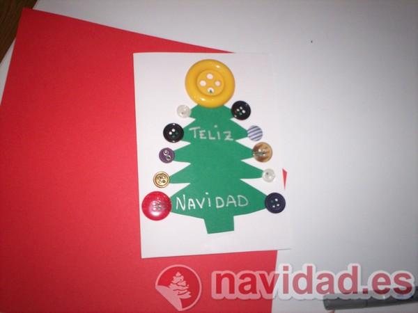 Manualidad de navidad felicitaciones navide as hechas a - Regalos navidenos hechos a mano ...