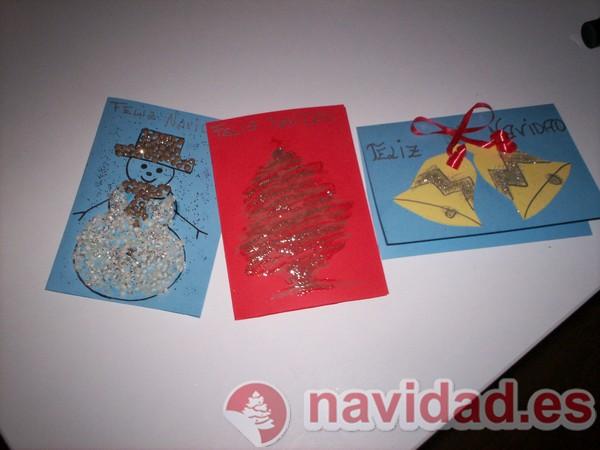 Christmas navide os hechos a - Felicitaciones de navidad originales para ninos ...