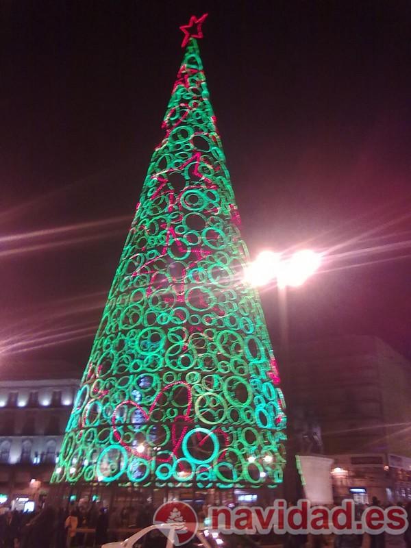 Decoraci n rbol de navidad madrid 2010 navidad - Decoracion arbol navidad ...