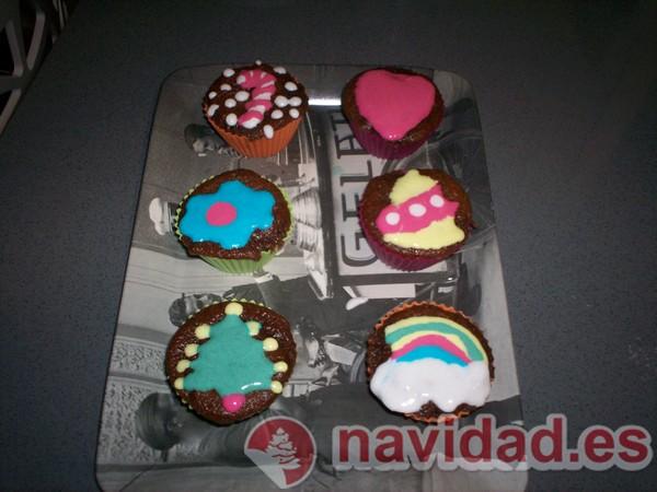 6 muffins con moldes de Lekue