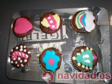 Muffins para Navidad