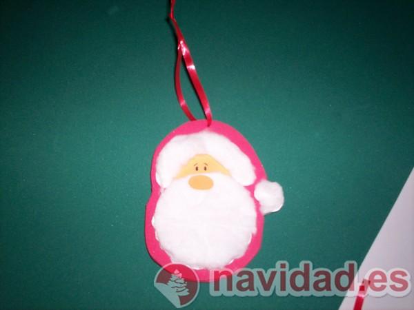 Adorno navideño Papá Noel
