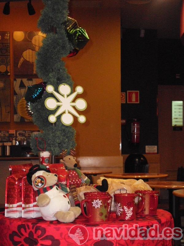 Starbucks Valencia Navidad