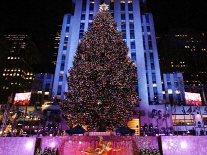 arbol navidad Rockefeller Center