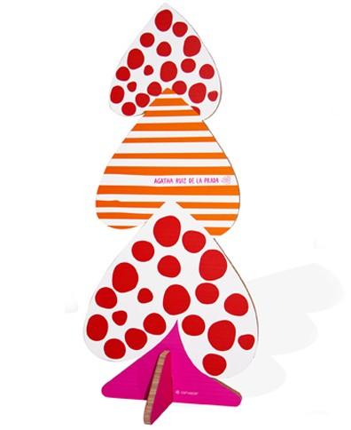 Agatha Ruiz de la Prada árbol de Navidad corazones