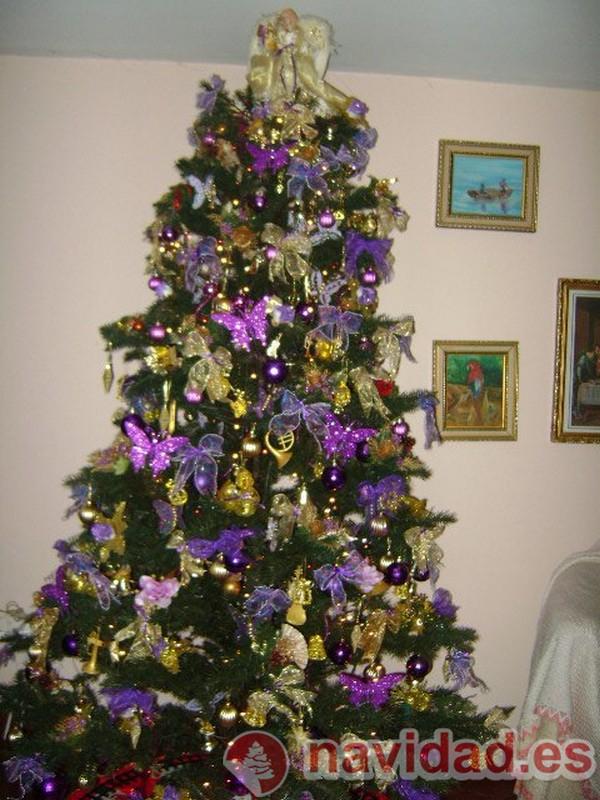 Dulce navidad el blog de recetas navideas y villancicos - Arbol de navidad decorado ...