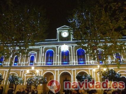 Foto ayuntamiento de Sevilla en Navidad de Mari Carmen Sanchez