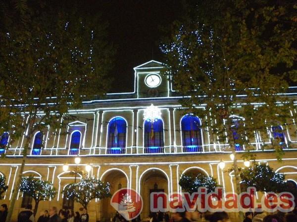 Ayuntamiento de Sevilla en Navidad de Mari Carmen Sanchez