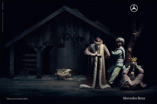 Publicidad navideñas Mercedes