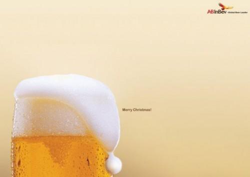 Publicidad navideñas cerveza Inbev