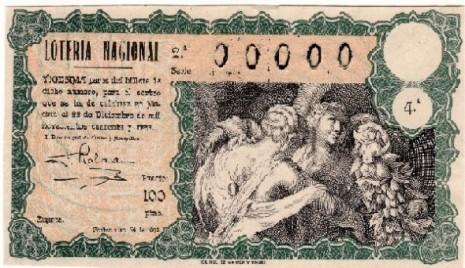 historia loteria navidad