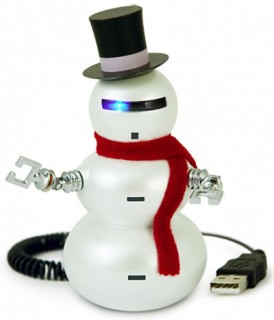 muñeco nieve navidad