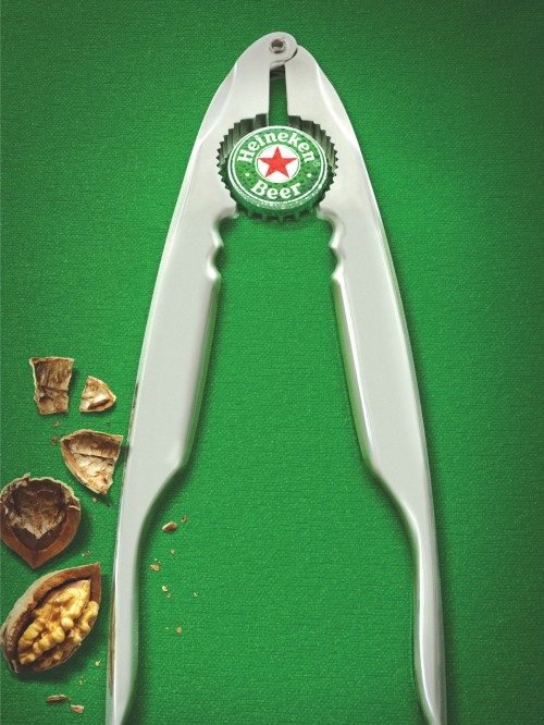 Publicidad navideña Heineken cascanueces