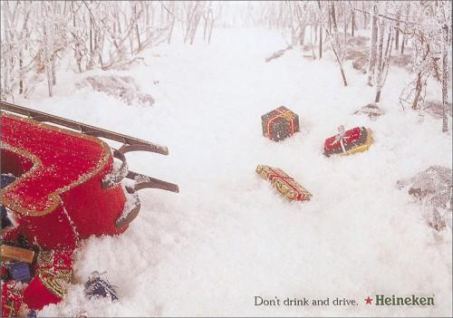 Publicidad navideña Heineken