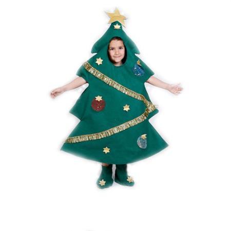 Disfraz de arbolito navideño 3