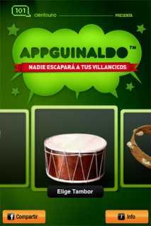 AppGuinaldo, tus villancicos en el iPhone 3