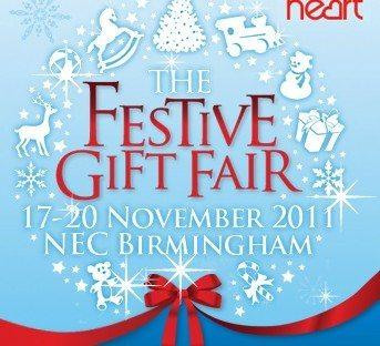 Festive Gift Fair Feria decoración navideña