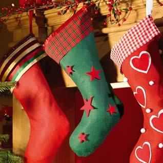 calcetín de Santa Claus